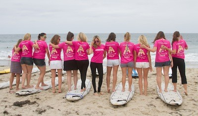 Bachelorette Party Ideas Surfing