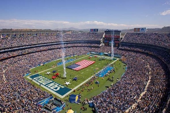 Qualcomm Stadium Chargers