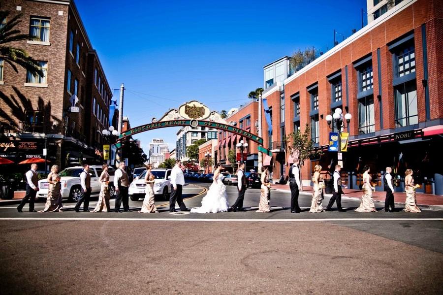 San Diego Wedding Party