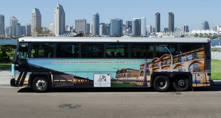 San Diego City Party Bus Rental Tours 2