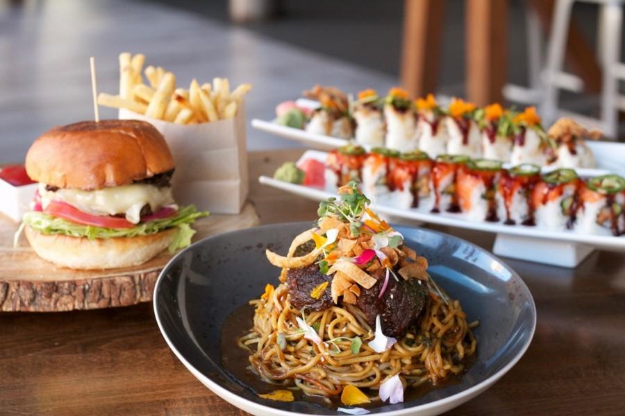 Blush Burger & Sushi