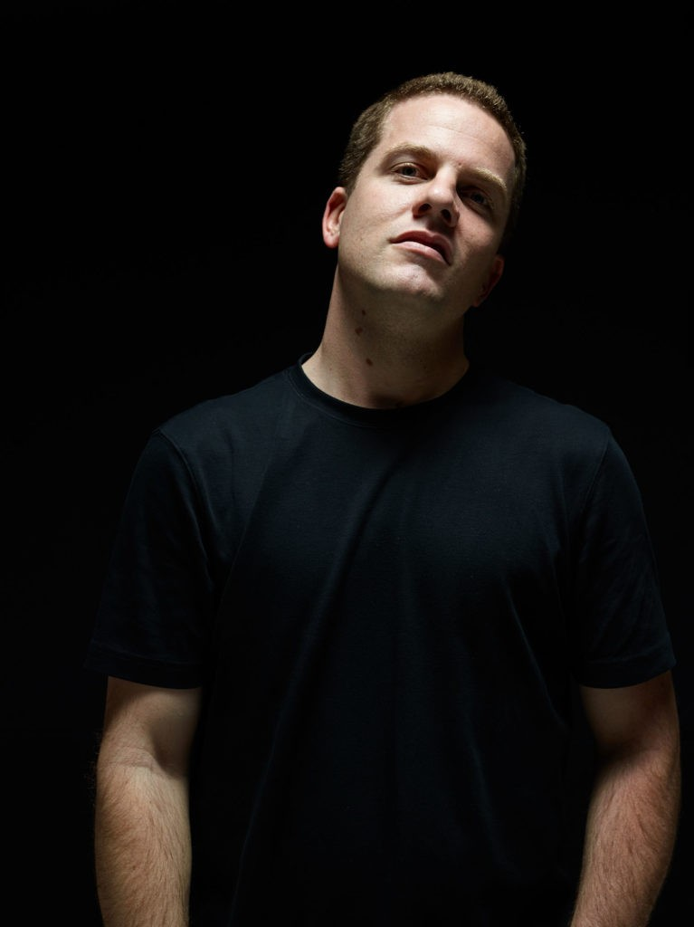 Portraits of DJ Decon, California night club music DJ.