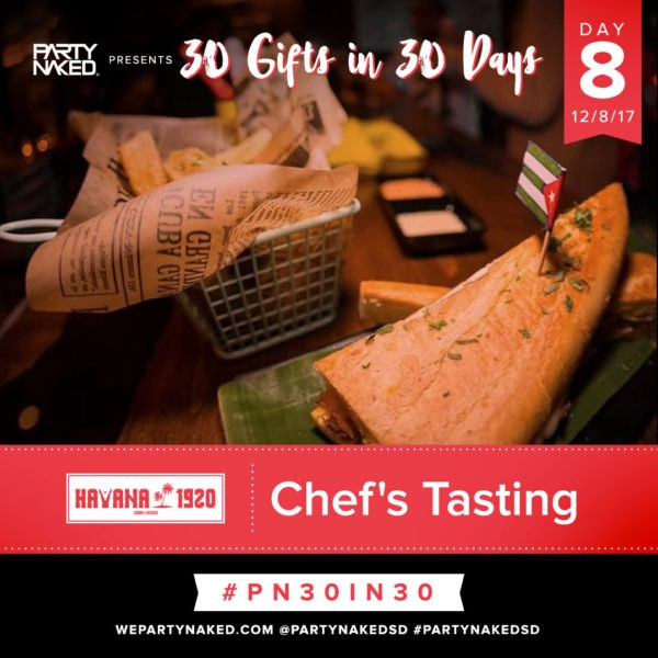 Chef's Tasting at Havana 1920
