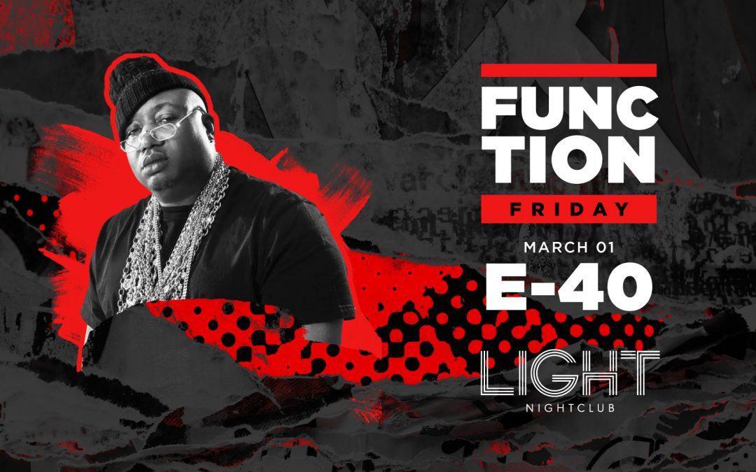 GIVEAWAY: E-40 at The LIGHT Vegas