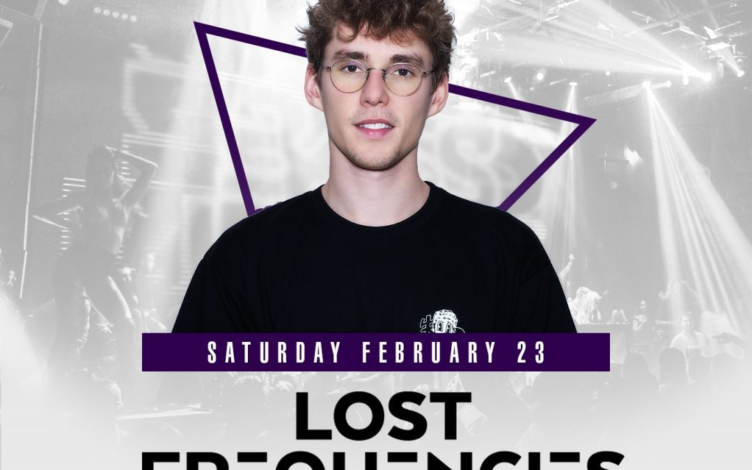 GIVEAWAY: Lost Frequencies at Parq
