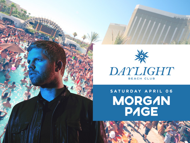 ULTIMATE BOTTLE SERVICE GIVEAWAY: Morgan Page at DAYLIGHT Vegas