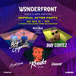 Wonderfront Festival Official After Party